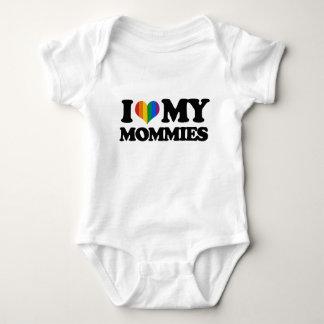 I love my mommies tee shirt