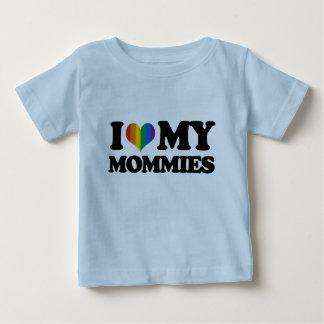 I love my mommies tee shirts