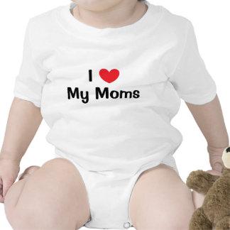 I Love My Moms Baby Creeper