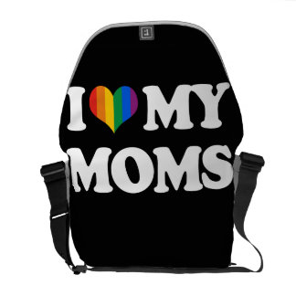 I LOVE MY MOMS COURIER BAGS