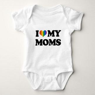 I LOVE MY MOMS INFANT CREEPER