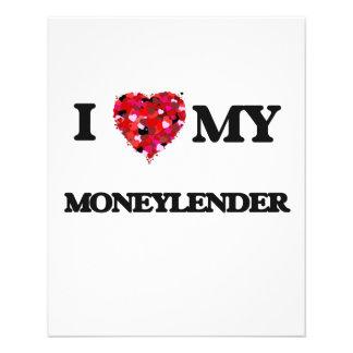 I love my Moneylender 11.5 Cm X 14 Cm Flyer