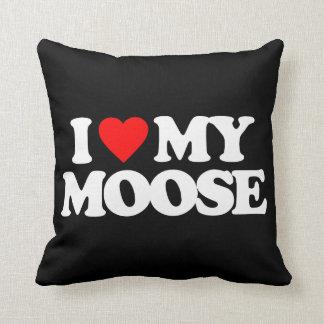 I LOVE MY MOOSE CUSHION