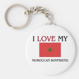 I Love My Moroccan Boyfriend Keychain