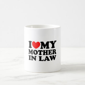 I Love My Mother In Law Basic White Mug