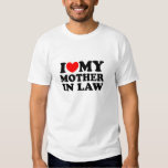 I Love My Mother In Law T-shirts