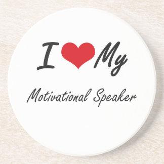 I love my Motivational Speaker Drink Coasters