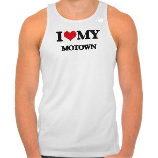 I Love My MOTOWN T Shirts