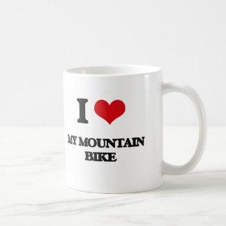 I Love My Mountain Bike Coffee Mug