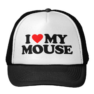 I LOVE MY MOUSE HATS