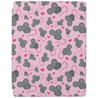 I love my mouse pattern in pink iPad cover