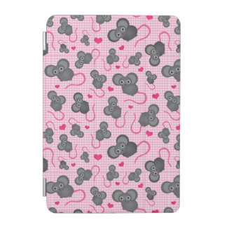 I love my mouse pattern in pink iPad mini cover