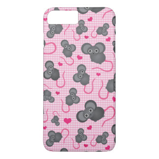 I love my mouse pattern in pink iPhone 8 plus/7 plus case