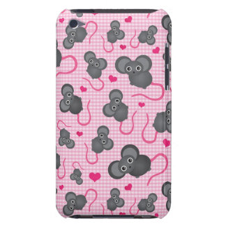 I love my mouse pattern in pink iPod touch Case-Mate case