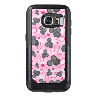 I love my mouse pattern in pink OtterBox samsung galaxy s7 case