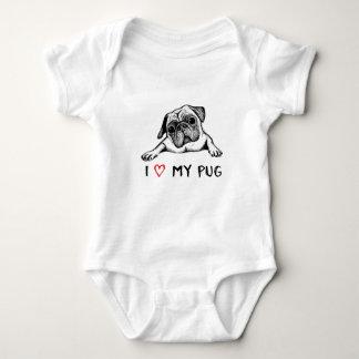 I love my Mug design Baby Bodysuit