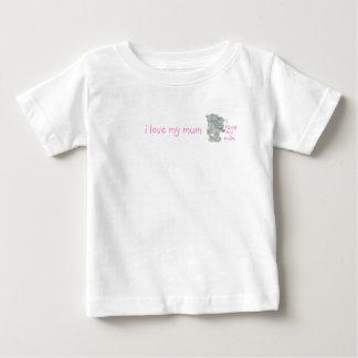 i love my mum, i love my mum baby T-Shirt