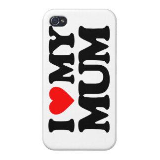 I LOVE MY MUM iPhone 4 CASES
