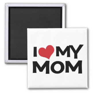 I Love My Mum Mother's Day Magnet