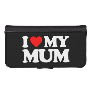 I LOVE MY MUM iPhone 5 WALLET CASES