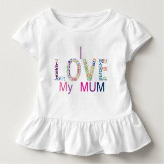 I love my mum toddler T-Shirt
