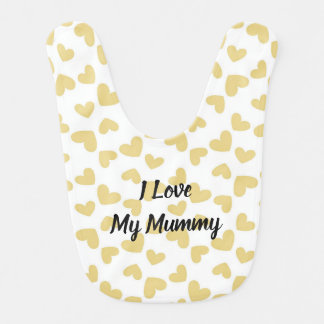 I Love My Mummy Bib