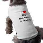 I Love My Mummy & Daddy