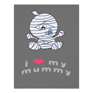 I love my mummy full color flyer