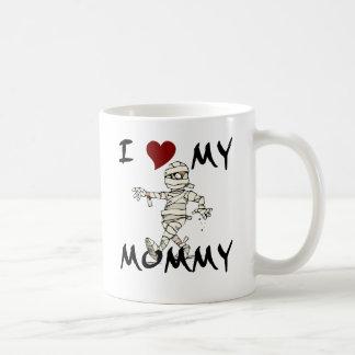 I Love My Mummy Item Basic White Mug