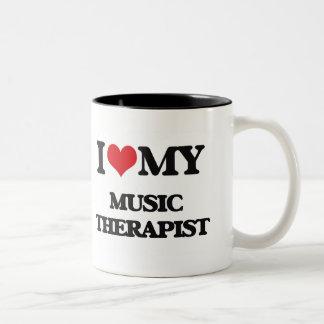 I love my Music Therapist Mug