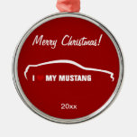 I Love my Mustang - Red