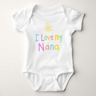 I Love My Nana Baby Bodysuit