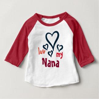 I Love My Nana Baby T-shirt