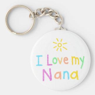 I Love My Nana Key Ring