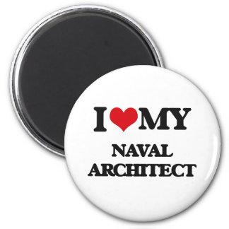 I love my Naval Architect Fridge Magnets