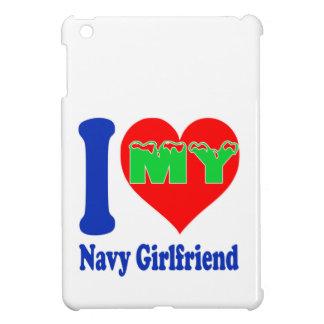 I love my Navy Girlfriend. iPad Mini Covers
