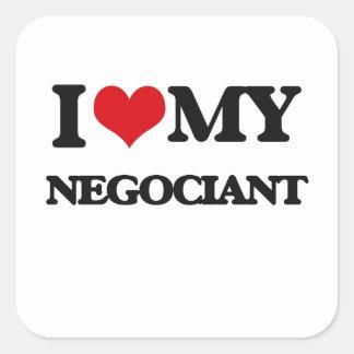 I love my Negociant Stickers