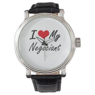 I love my Negociant Wristwatch