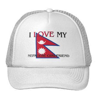 I Love My Nepalese Girlfriend Hat