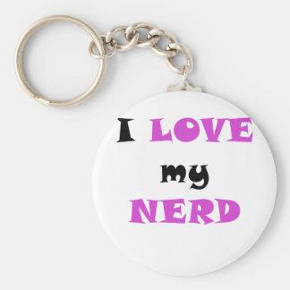 I Love my Nerd Keychains