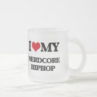 I Love My NERDCORE HIPHOP Mugs