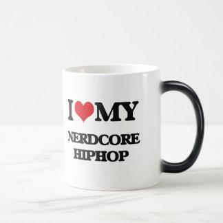 I Love My NERDCORE HIPHOP Mug
