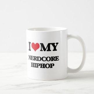 I Love My NERDCORE HIPHOP Coffee Mug