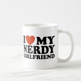 I Love My Nerdy Girlfriend Coffee Mug