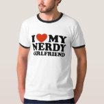 I Love My Nerdy Girlfriend Shirts