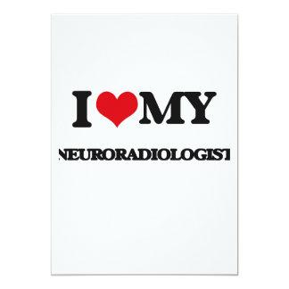 I love my Neuroradiologist Custom Invite