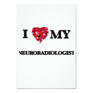 I love my Neuroradiologist 9 Cm X 13 Cm Invitation Card