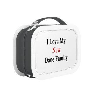 I Love My New Dane Family Lunchbox