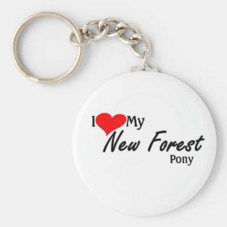 I love my New Forest Pony Keychains