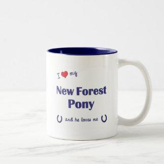 I Love My New Forest Pony (Male Pony) Coffee Mug